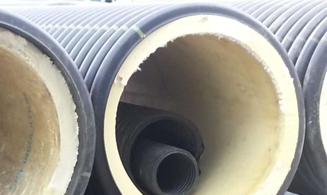 Pre Insulated Pipe Hypro Plastics Calgary Leader Hdpe