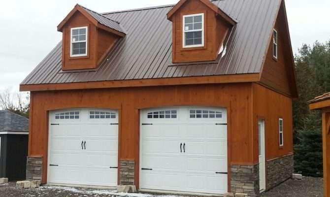 Prefab Garage Loft Storey Double