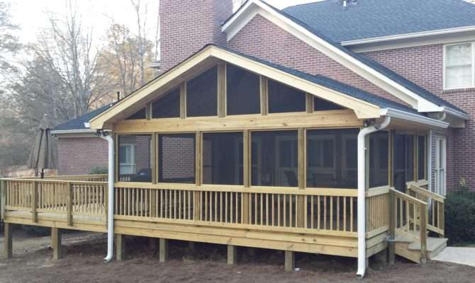 Prefab Screened Porch Panels
