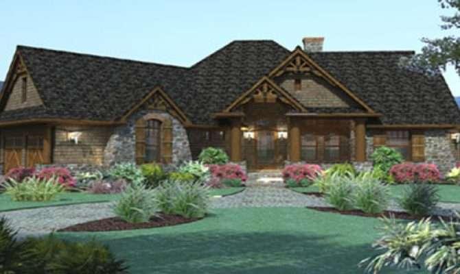 Prepare One Story House Plans Wrap Around Porch