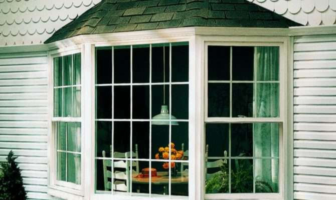 Pretty House Designs Ranch Bay Window