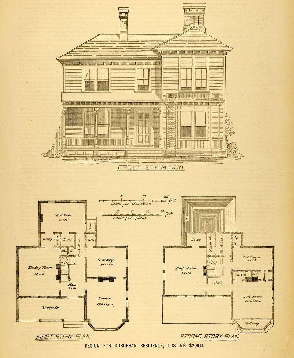 Print House Architectural Design Floor Plans