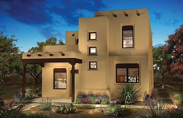 Pueblo Style House Plans Plan