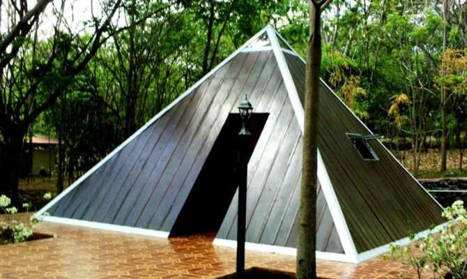 Pyramid House Plans Little Piramidal
