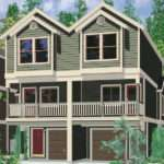 Quadplex Plans Narrow Lot House Row