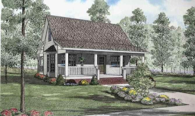 Quaint Country Cottage Architectural Designs
