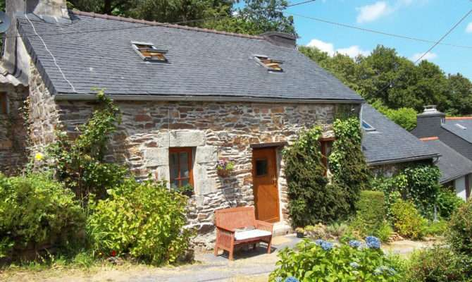 Quaint Stone Cottage Brittany Small House Bliss
