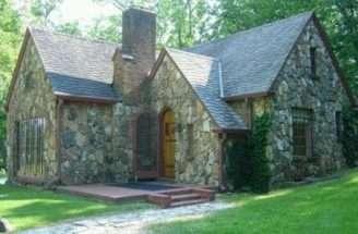 Quaint Stone Cottage Home Pinterest
