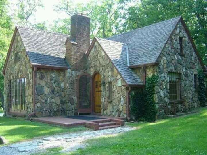 Quaint Stone Cottage Home Pinterest