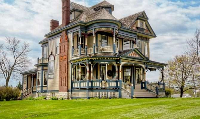 Queen Anne Victorian House Plans Becuo