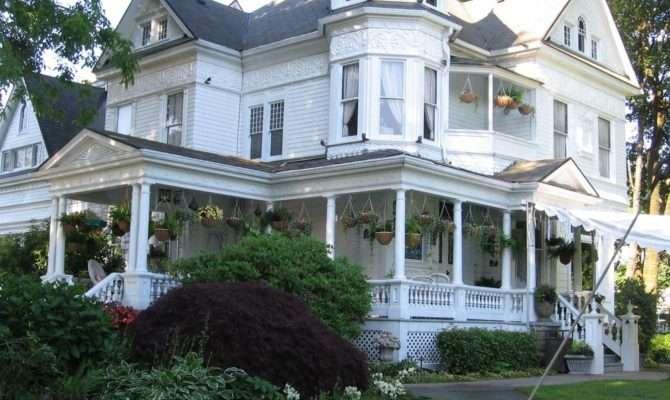 Queen Anne Victorian Mansion Portland United States