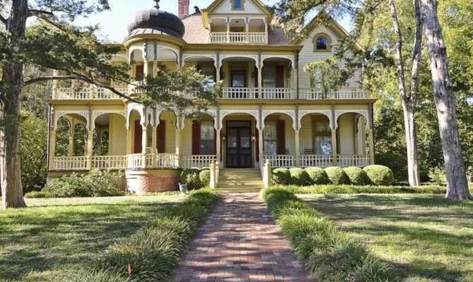 Queen Anne Victorian Mansion Texas Place Call Home Pintere