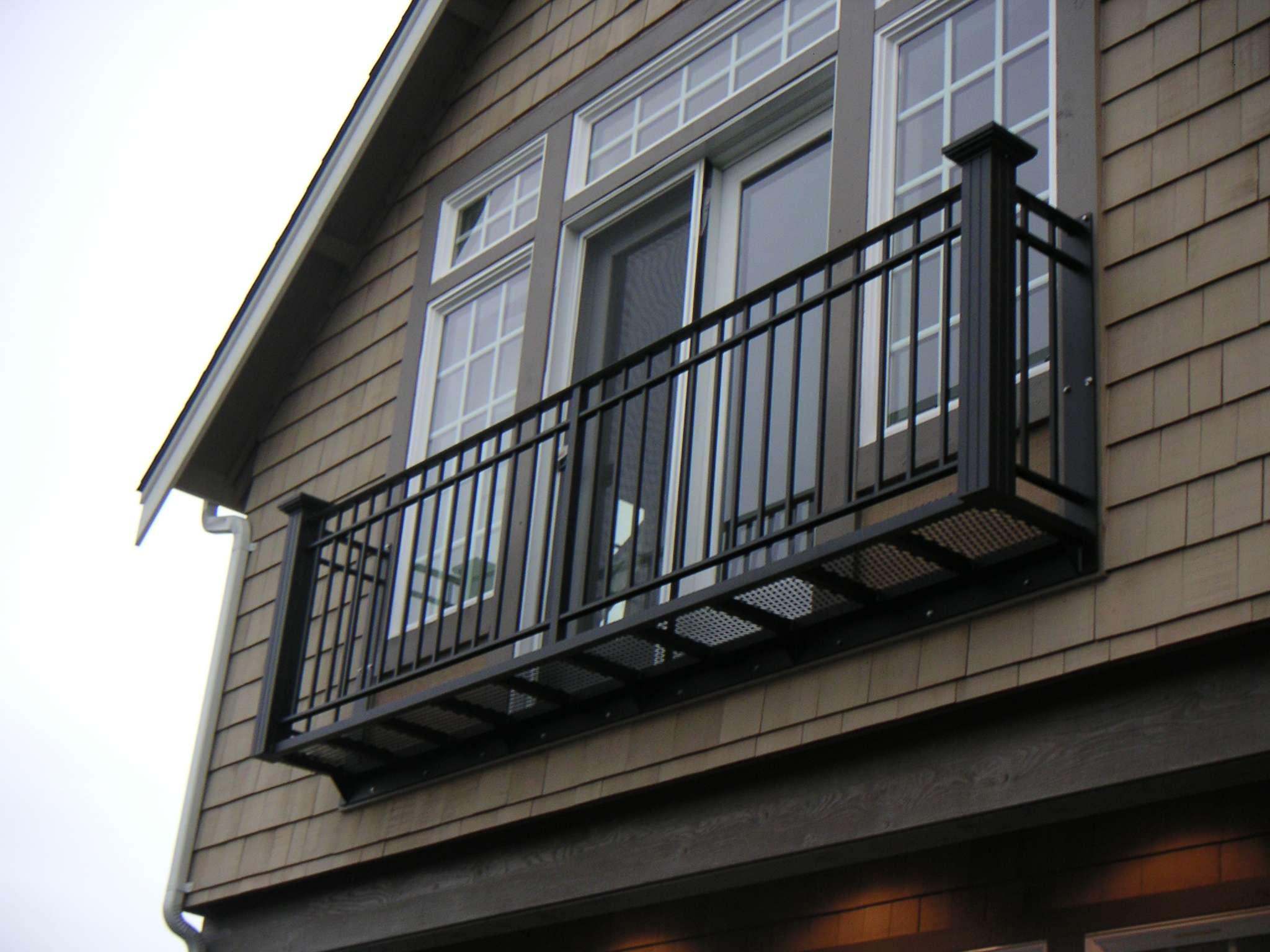 Rail Pro Bolt Aluminum Balconies Juilette Style Balcony