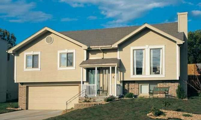 Raised Ranch Style Homes Garage House