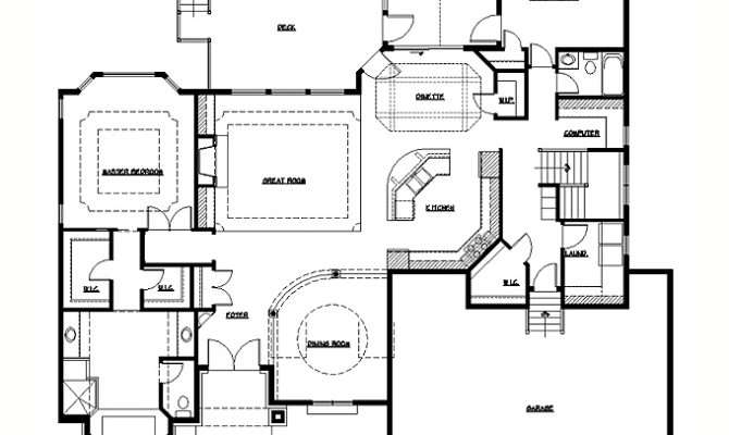 Rambler Floor Plans Plan Tjb Homes