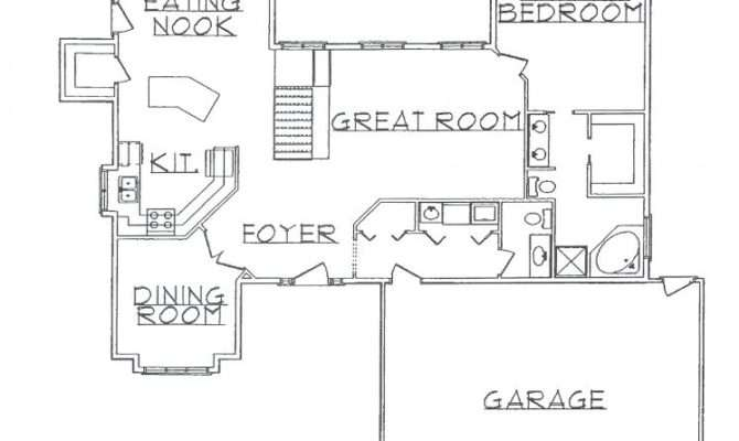 Rambler Level Homes Single Floor Plans