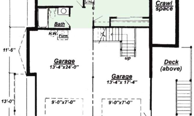 Ranch Finished Basement House Plans Home Design