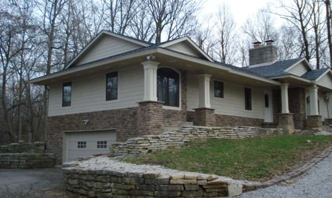 Ranch Home Exterior Remodel Ideas Remodeled Houses Renovations