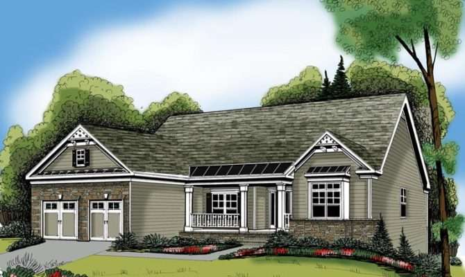 Ranch House Plan Chp Coolhouseplans