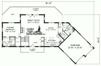 Ranch House Plans Eplans Floor