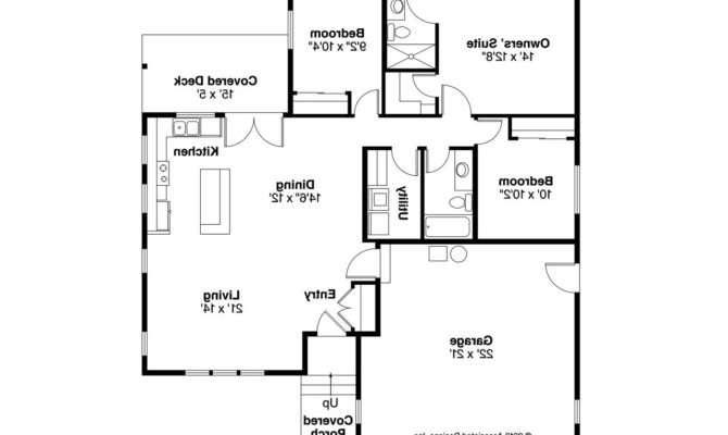 Ranch House Plans Kenton Associated Designs