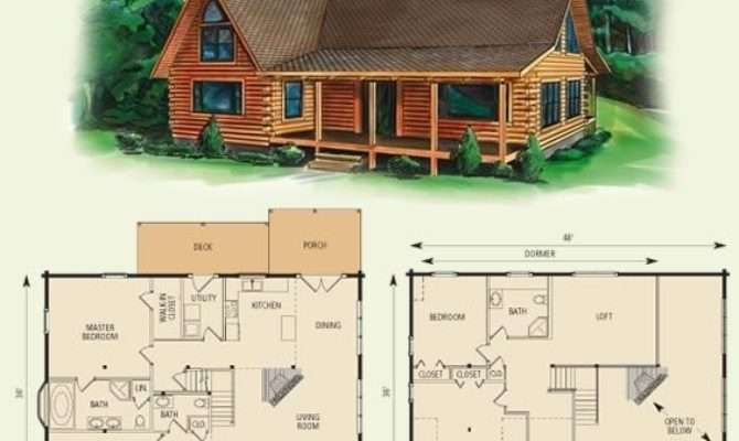 Ranch House Plans Loft Fresh Cabin Floor