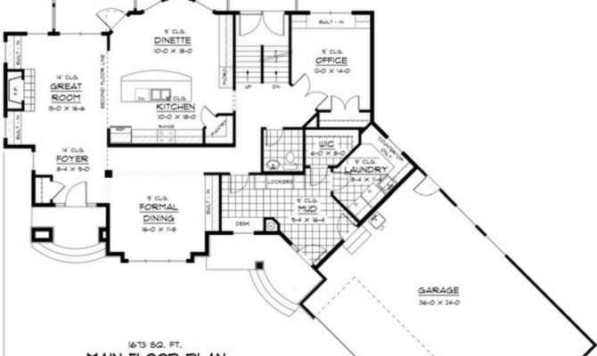 Ranch House Plans Loft Unique