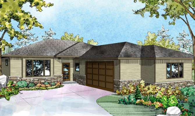 Ranch House Plans Lostine Associated Designs