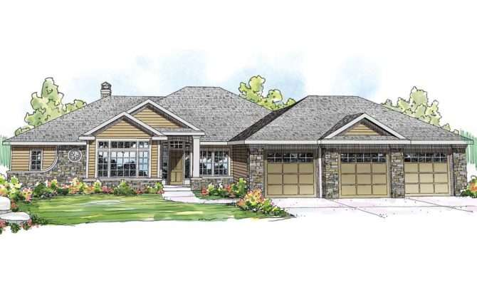Ranch House Plans Meadow Lake Associated Designs