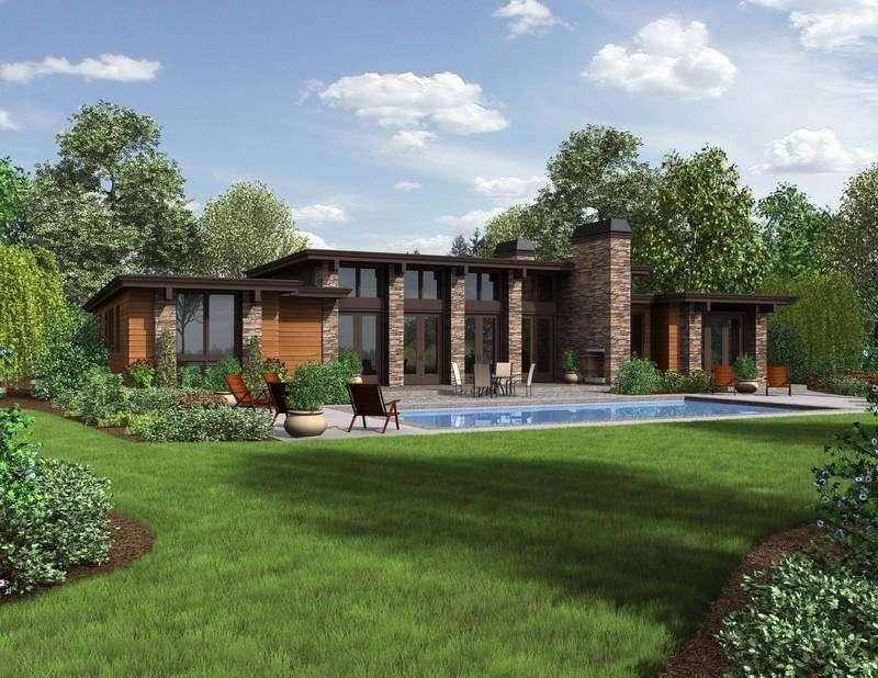Ranch House Plans Modern Feel