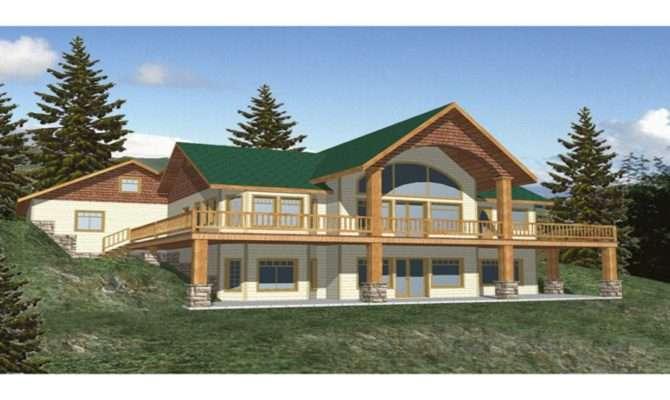 Ranch House Plans Walkout Basement