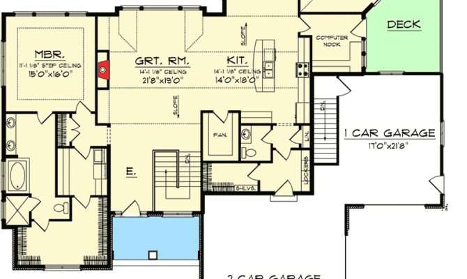 Ranch House Plans Walkout Homeplans