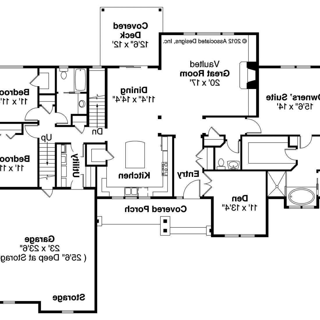 Ranch Split Bedroom Floor Plans Also Stunning Home