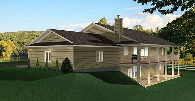 Ranch Style Bungalow Walkout Basement Well Laid