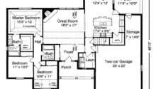 Ranch Style Home Open Floor Plan Descriptions House Plans