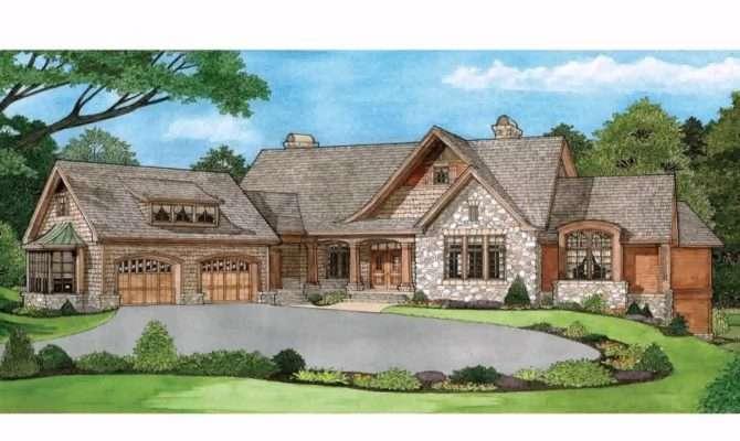 Ranch Style Home Plans Walkout Basement House Design Ideas