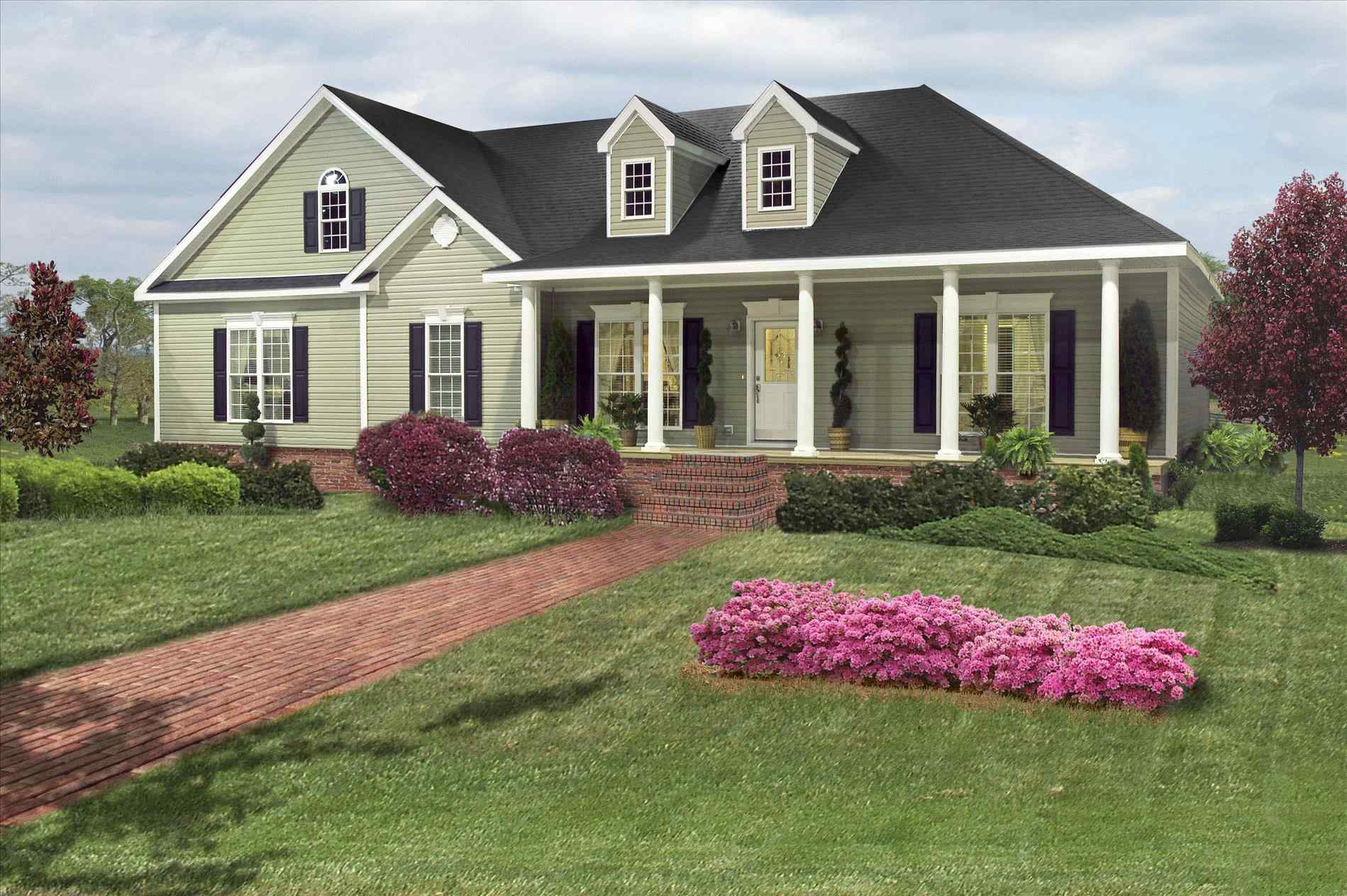 Ranch Style Homes Vinyl Siding House