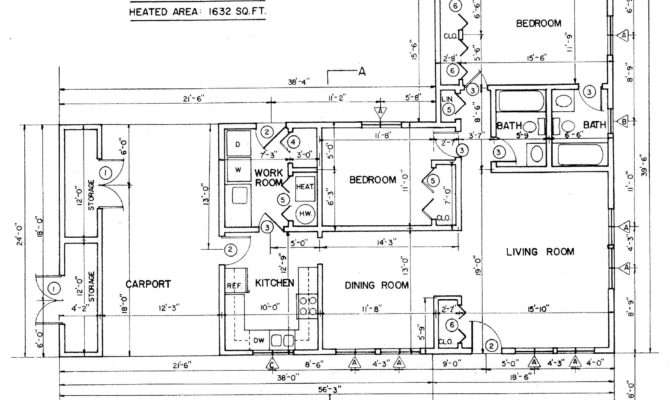 Ranch Style House Plans Bedrooms