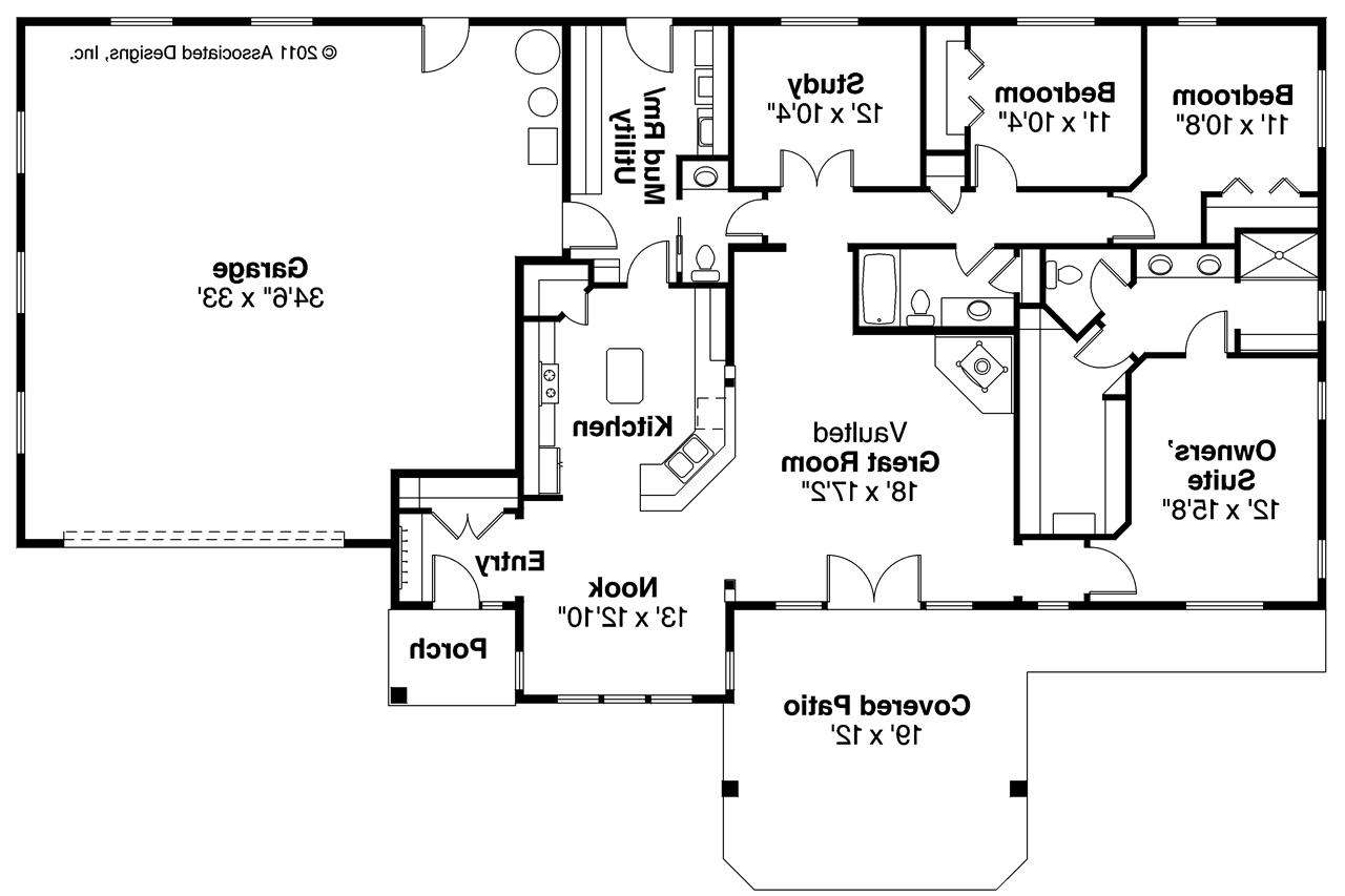 ranch style house plans floor mud room architecture