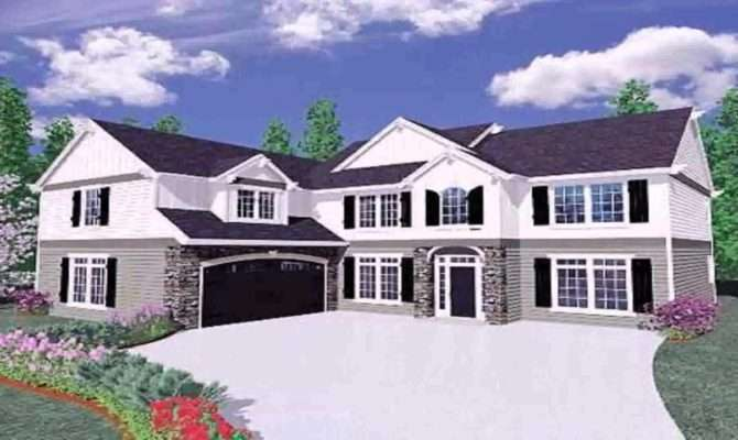 Ranch Style House Plans Shaped Youtube