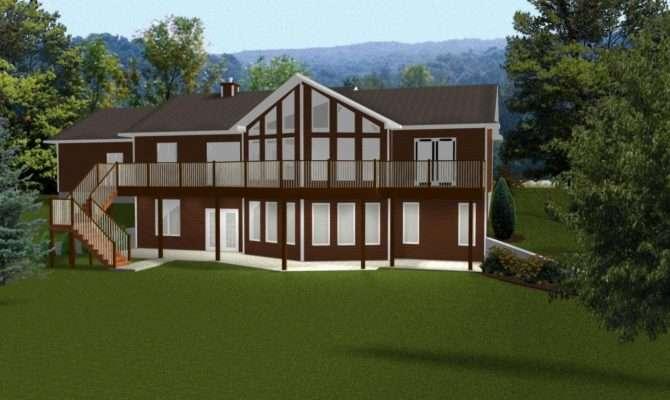 Ranch Style House Plans Walkout Basement Open