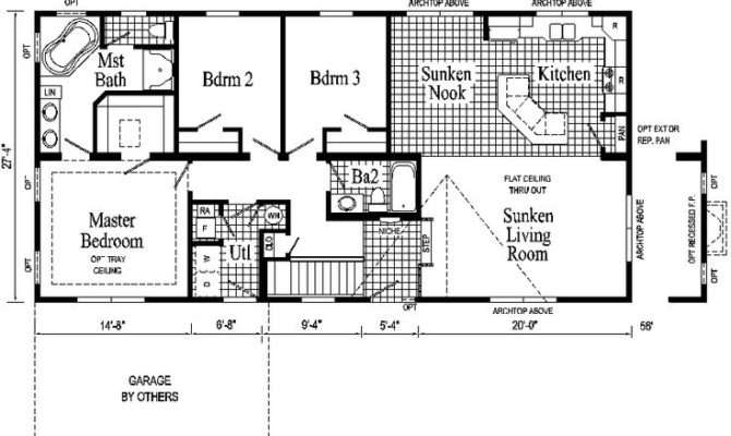 Ranch Style House Plans Windham Modular Home