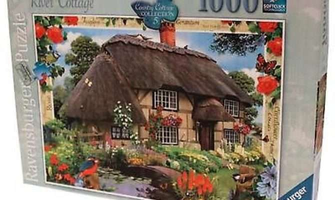 Ravensburger Country River Cottage Collection Puzzle Pieces New