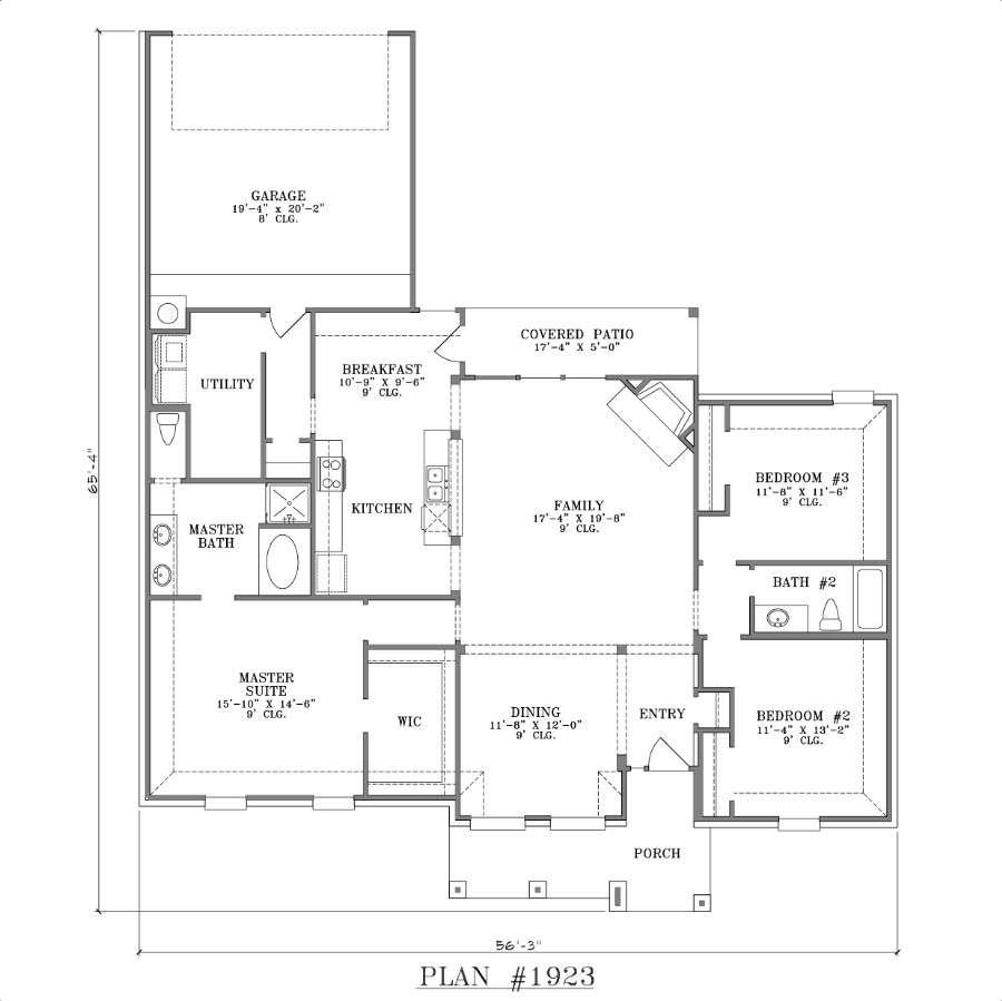 Rear Garage House Plans Smalltowndjs