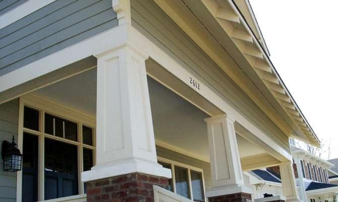 Recessed Panel Square Tapered Pvc Porch Columns