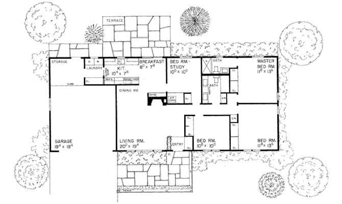 Rectangular Floor Plans One