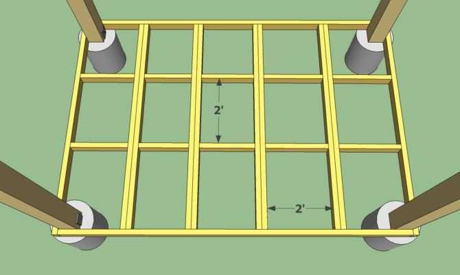 Rectangular Gazebo Floor Plans