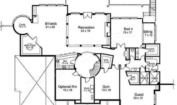 Regency House Plan Home Plans Archival Designs