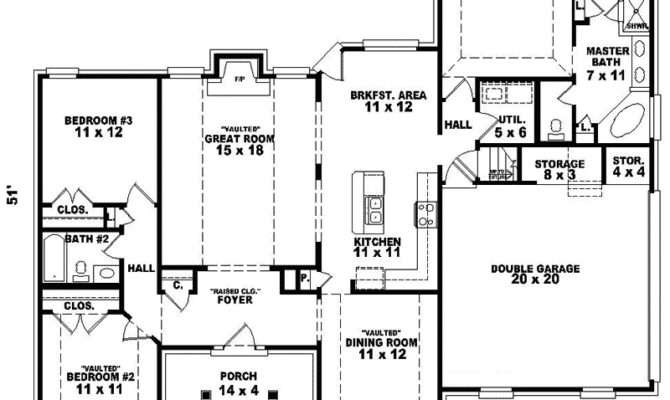 Regency Manor Ranch Home Plan House Plans More