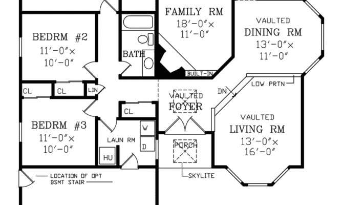 Regency Ranch Home Plan House Plans More